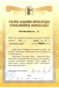 Kiti Rainių statyba atestai, sertifikatai